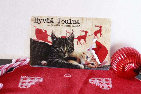 Haru&Calcifer joulukortti